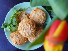Cauliflower and cheese nuggets