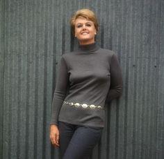 Angela Lansbury when she played Mame.