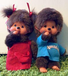 Vintage Monchhichi Thumb Sucker Plushy Doll, Monchhichi, Vintage Monchhichi, Sekiguchi Monchhichi, Plush Monkey, Monchichi Monkey by Lalecreations on Etsy
