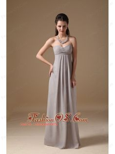 Buy gray sweetheart chiffon floor length eighth grade graduation dress from college graduation dresses collection, sweetheart neckline empire in grey color,cheap floor length dress with zipper back and for prom . Grey Party Dresses, Grey Evening Dresses, Grey Prom Dress, Junior Party Dresses, Pretty Prom Dresses, Grey Bridesmaid Dresses, Cheap Prom Dresses, Formal Dress, Evening Gowns