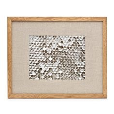 Love these ash and linen picture frames from Chapters/Indigo
