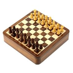 Travel Games Magnetic Chess Sets and Board Wooden Toys and Games 7 X 7 Inches ShalinIndia,http://www.amazon.com/dp/B00AHB0UIE/ref=cm_sw_r_pi_dp_bCfitb1V5KT41Q36