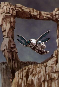 Panzer Dragoon Zwei painting