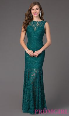 Prom Dresses, Celebrity Dresses, Sexy Evening Gowns: Lace Floor Length Sleeveless Dress 4155
