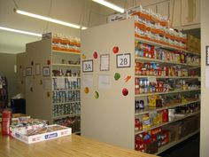 One example of how a food pantry is organized. Imagine organizing and distributing 2.0 million pounds of food each month?