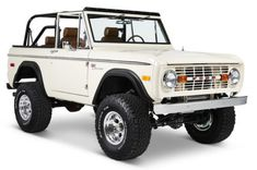 Our Ford Bronco Coyote restorations are quickly becoming the Icon of vintage Bronco restoration. Old school cool with new school mechanics and reliability. Old Ford Bronco, Ford Bronco For Sale, Early Bronco, Ford Bronco Truck, Classic Ford Broncos, Classic Bronco, Classic Cars, Classic Auto, Old Ford Trucks