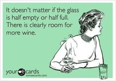 There is room for wine