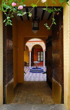 old Jewish quarter in Sevilla, Spain