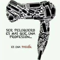 Ser peluquero es más que una profesión...es una pasión!  #peluquería   #peluqueríaprofesional   #professionalhairdressing   #pasión   #hair2015   #accesoriosdepeluquería   #limhair   #beautyhair   #limhairtiendaonline