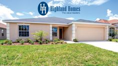 Take a virtual tour of the Richmond by Highland Homes - Florida new homes for sale. The Richmond has sq. of living space and includes 4 bedrooms, 2 baths, 2 car garage and a covered lanai.