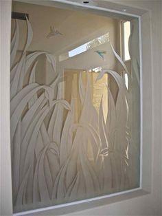 Image from http://www.vangviet.com/wp-content/uploads/cozy-etched-glass-window-reeds-hummingbird-painted-glass.jpg.