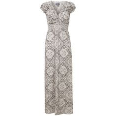 Lace Tile Print Maxi Dress in DRESSES from Apricot
