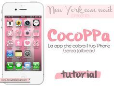 CocoPPa App Tutorial (translate to English)! Get cute icons for your iPhone Apps. #girly