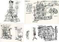 sf sketches by matthew cruickshank