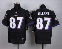 #87 Maxx Williams Baltimore Ravens Elite Jersey