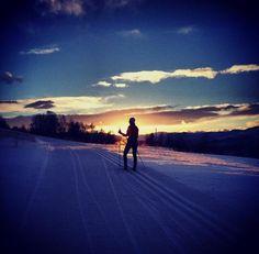 Skumring skitur Kannik