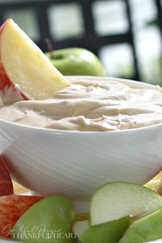 Easy recipe for Cream cheese apple dip is a perfect way to enjoy crisp, Autumn apples. Just three ingredients mixed together for a healthy snack. Cream Cheese Apple Dip, Cream Cheese Dips, Apples And Cheese, Cream Cheese Recipes, Grateful Prayer, Thankful Heart, Apple Rose Pastry, Tart Taste, Apple Desserts