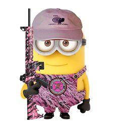 *PINK CAMO MINION ~ Despicable ME, 2013