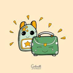 Un petit dessin, une belle rentrée ! #septembre #cartable Doodle Art, Illustration, Pikachu, Doodles, Snoopy, Fictional Characters, Doodle, Satchel, September