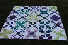 Quilting is more fun than Housework...: Scrap-A-Palooza! Quilt #18 Finish
