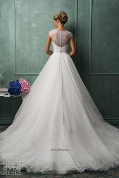 Amelia Sposa 2014 Wedding Dress Style Davia