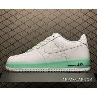 pretty nice aab37 fc894 Women Men New Style Nike Air Force One Upstep Low White Light Green  596728-030
