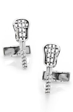 "Cufflinks Inc. ""Lacrosse Stick"" Cuff Links/男性/メンズ/ジュエリー/宝石"