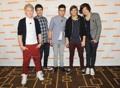 Harry Styles and Zayn Malik Photo - 2012 Nickelodeon Upfront Presentation