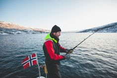 On this fishing tour in Tromsø, you will be able to catch, prepare & taste your own catch on a catamaran with a small group. We have a success rate. Deep Sea Fishing, Best Fishing, Pukka, Tromso, Catamaran, Norway, Europe, Lunch, Tours