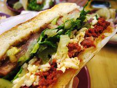 Food So Good Mall: Mexican Torta Sandwich