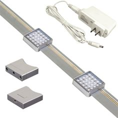 KIT-SD131-TR2-A Jesco Orionis 2' Dimmable Track Kit  Item# KIT-SD131-TR2-A  Regular price: $162.38  Sale price: $116.91
