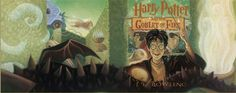 """This image is taken from the book cover """"Harry Potter and The Goblet of Fire."""" The original was illustrated in pastel by noted artist Mary GrandPré, who has created the book cover and chapter art for the entire Harry Potter series. Each print is numbered and hand-signed by the artist. #GrandPré"""