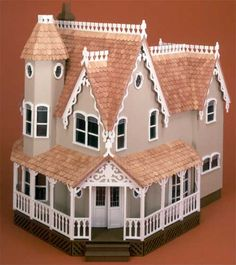 My Dad made me this when I was young--Pierce Dollhouse by Greenleaf