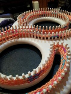 Afghan Loom Knit Shawls, Afghans, And Mu - Diy Crafts Loom Knitting Blanket, Afghan Loom, Loom Blanket, Loom Knitting Stitches, Spool Knitting, Knifty Knitter, Loom Knitting Projects, Yarn Projects, Knitted Blankets
