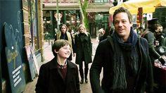 Once Upon A Time: Baelfire, Henry, Emma, & Rumplestiltskin