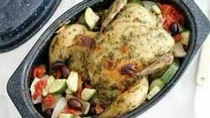 Slow-Cooker Chicken with Pesto & Vegetables