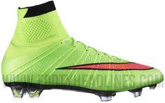 Green Nike Mercurial Superfly IV Cristiano Ronaldo 2014 Boot