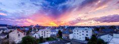 Sunset in the neighbourhood