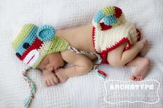 Вяжем костюм на фотосессию для малышей