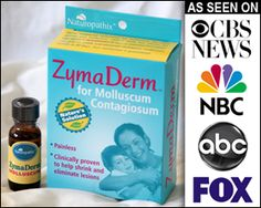 ZymaDerm is the rapid, painless, all natural, topical molluscum contagiosum treatment 84% of doctors surveyed prefer. Easy to apply - FDA approved homeopathic ingredients - scientific studies. for Ryan