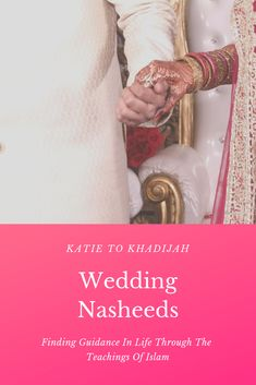 After music-free wedding nasheeds? Look no further than this playlist I've put together of 7 wedding nasheeds - with vocals, daff and sweet romantic lyrics