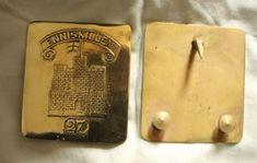 27th (Inniskilling) Regiment of Foot Officer's shoulder-belt plate