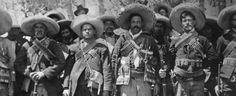 Emiliano Zapata and Pancho Villa Mexican Revolution, Pancho Villa, Chicano Art, Rio Grande, Old Pictures, Culture, History, Archive, Texas