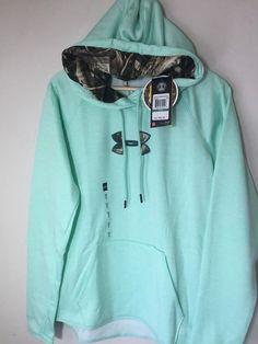 Under Armour Storm Caliber hoodie sweatshirt NWT LG womens' crystal green camo Crystal Green, Under Armour Hoodie, Hoodies, Sweatshirts, Camo, Crystals, Sweaters, Jackets, Women