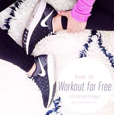 Tuesday Ten: Ways to Work Out for Free