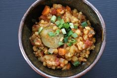 Vegetarian Posole Stew #vegetarian #healthy #recipe