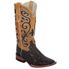 Ferrini Women's Embossed Western Boots