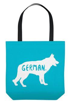 German Shepherd Tote Bag #germanshepherd
