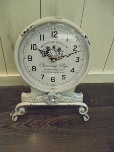 vintage clock...luv it                                                                                                                                                                                 More