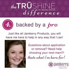 This gel is amazing!!! None of the chemicals or damage associated with traditional gel kits!! I'm in love with the brand new product!! https://gale.jamberry.com/category/trushine-gel-enamel #nailgel #JNTrueshine #gel #nailart #jamberry #trushine